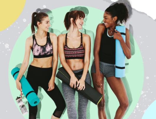 """Challenge active women with """"yoga"""""""